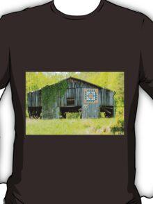 Kentucky Barn Quilt - Thunder and Lightening T-Shirt