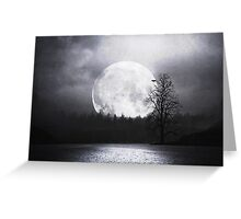 When Night Is Falling Greeting Card
