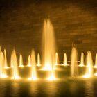 NGV Fountain - Melbourne by Chris Kean