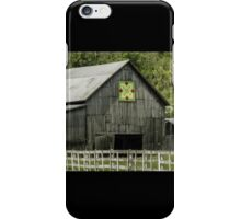 Kentucky Barn Quilt - 3 iPhone Case/Skin