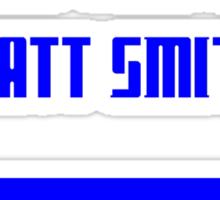 I Wish This Was Matt Smith Sticker
