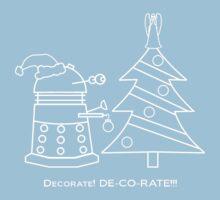 A Very Dalek Christmas - Dark Kids Clothes