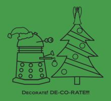 A Very Dalek Christmas - Light by NevermoreShirts