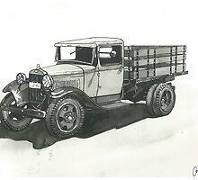 Old Pickup Truck - www.jbjon.com by Jonathan Baldock