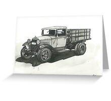 Old Pickup Truck - www.jbjon.com Greeting Card