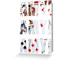 Amy Amy Amy! Greeting Card