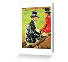 The Foxhunt Greeting Card