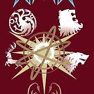 Game of Thrones Calendar by Daniel Bevis