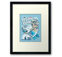Frosty Flakes - Elsa Edition  Framed Print