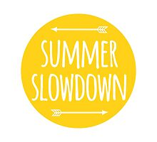 summer slowdown Photographic Print
