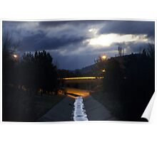 Stormwater reflections Poster