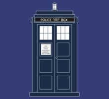 TARDIS by clockworkheart