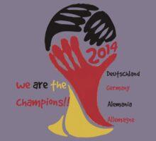 FIFA World Cup Champion Germany Deutschland Glückwunsch Kids Clothes