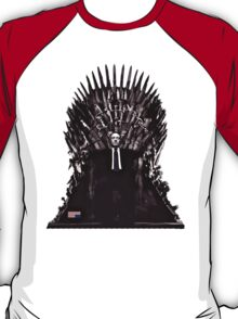 Underwood on the Iron Throne T-Shirt