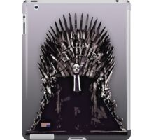 Underwood on the Iron Throne iPad Case/Skin