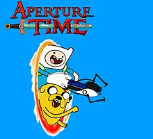 Aperture Time! with Finn and Jake by bplavin