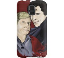 A detective and his blogger Samsung Galaxy Case/Skin