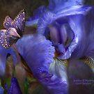Iris - Goddess Of Mystery by Carol  Cavalaris