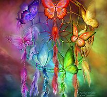 Dream Catcher - Rainbow Dreams by Carol  Cavalaris