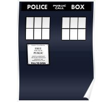 Tardis Door (Version 2) Poster