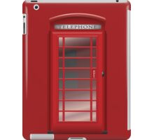 London Red Phone CallBox Prints / iPad Case / iPhone 5 Case / iPhone 4 Case  / Samsung Galaxy Cases / Pillow / Tote Bag / Duvet /Shirt / Mug iPad Case/Skin