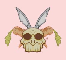 Old Rabbit Skull Kids Clothes