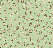 Tiny Bears Pattern by Sophie Corrigan