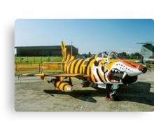 Dornier G.91R-3 5452 in Tiger Markings Canvas Print