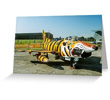 Dornier G.91R-3 5452 in Tiger Markings Greeting Card