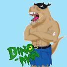Dino Man by wumbobot