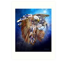 Dream Catcher - Freedom Lives Art Print