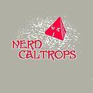 Nerd Caltrops by merrypranxter