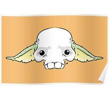 Yoda Skull Poster
