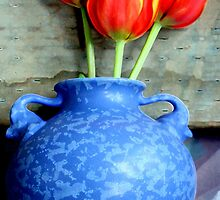 Elephantine Tulips by Michael May