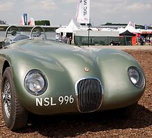 Jaguar 1961 Sports 2483cc by Keith Larby