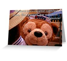 Rapunzel quote on Duffy Greeting Card