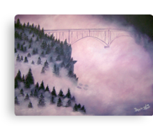 Deception Pass, Washington ~ Oil Painting Canvas Print