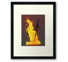 Bonfire ( Dark Souls II ) Framed Print