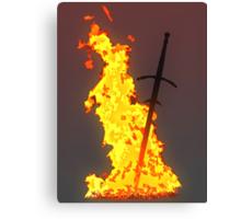 Bonfire ( Dark Souls II ) Canvas Print