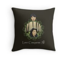 OUAT - Two Halves, One Whole Throw Pillow