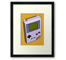Game Boy 3D Framed Print