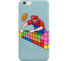 Super Mario Mason iPhone Case/Skin
