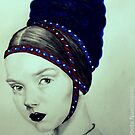 Lily Cole in medieval attire  by Elisabete Nascimento