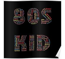 80s Kid Poster