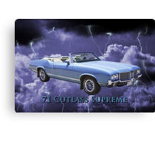 Oldsmobile Cutlass Supreme Muscle Car Canvas Print
