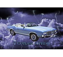 Oldsmobile Cutlass Supreme Muscle Car Photographic Print