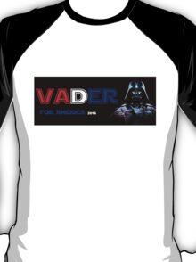 Draft Vader - Darth Vader for President Alternate Design T-Shirt