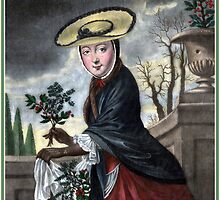 Allegory of December - Christmas by AntiqueImages