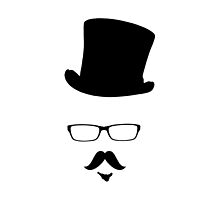 Top Hat and Moustache by Kyle Willis