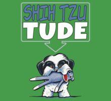 Shih Tzu Tude (Dark) by offleashart